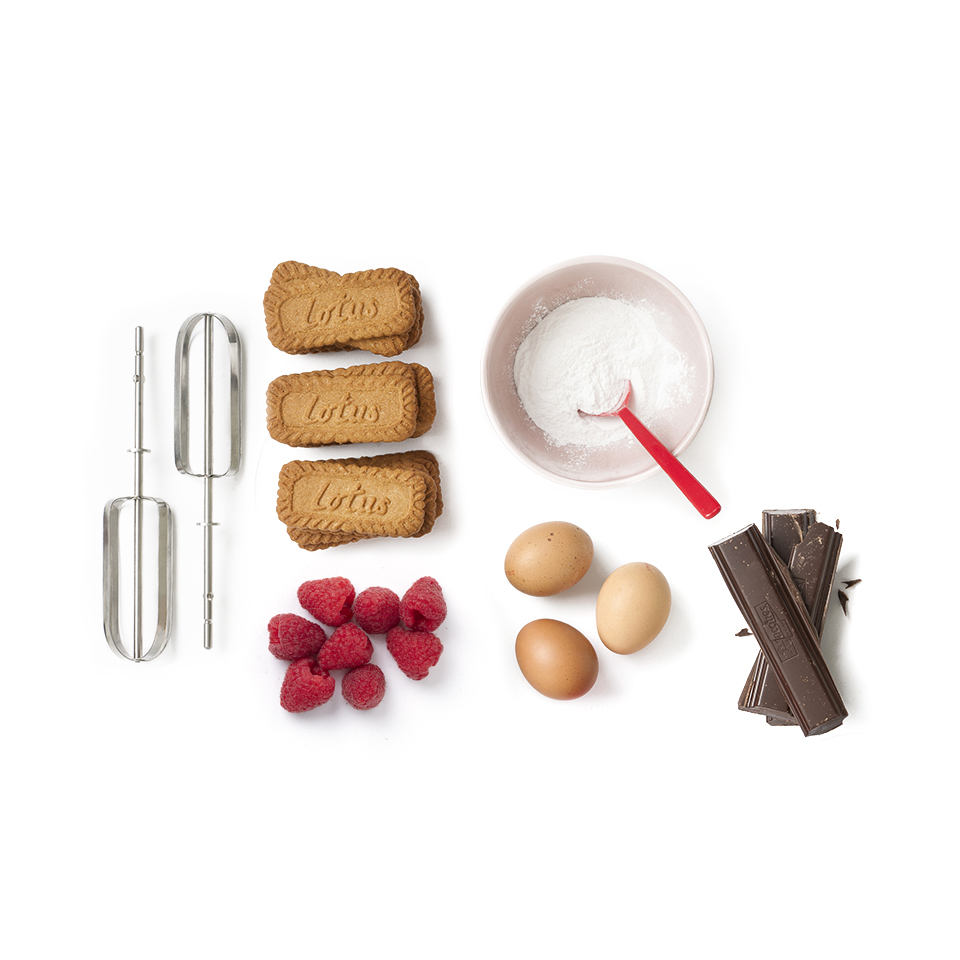 ingredients recette Parfait duo biscuit Original Speculoos et chocolat